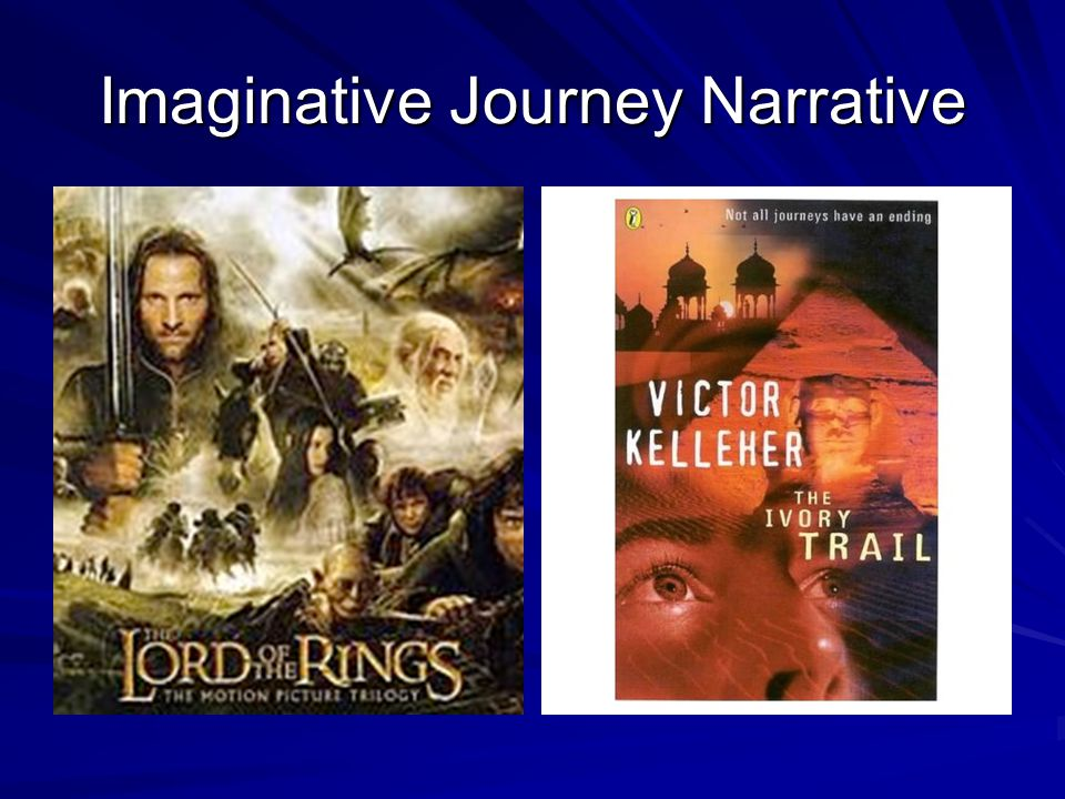 Inner Journey Narrative This could be based on a True story This could be a fictional story which is based on a factual experience by someone you know or by you but written in third person