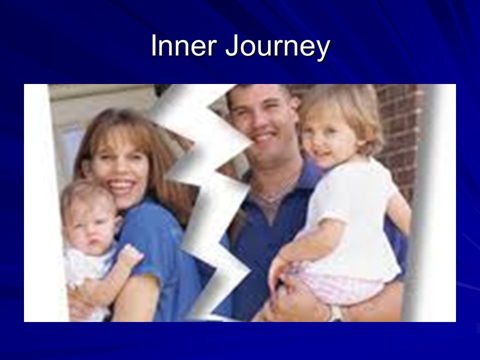 Events that can bring about an inner journey DIVORCE SEPARATION TRAUMATIC EXPERIENCE MIGRATION BULLYING MOVEMENT AND CHANGE AN IMPRESSIVE PERSONS ACTIONS