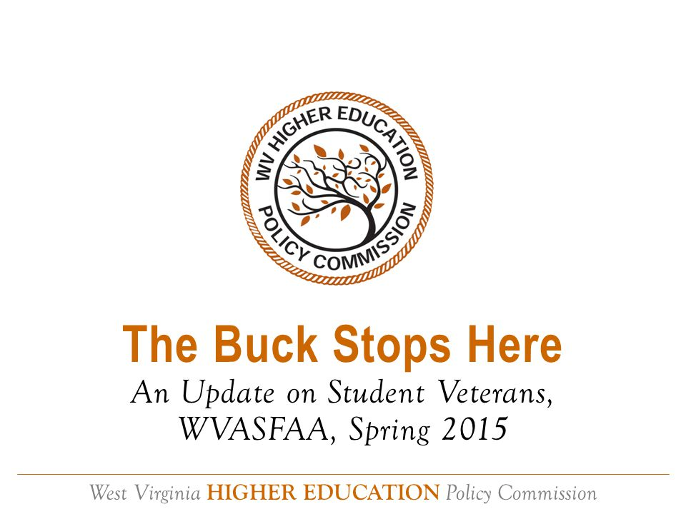 West Virginia HIGHER EDUCATION Policy Commission Contact L.G.