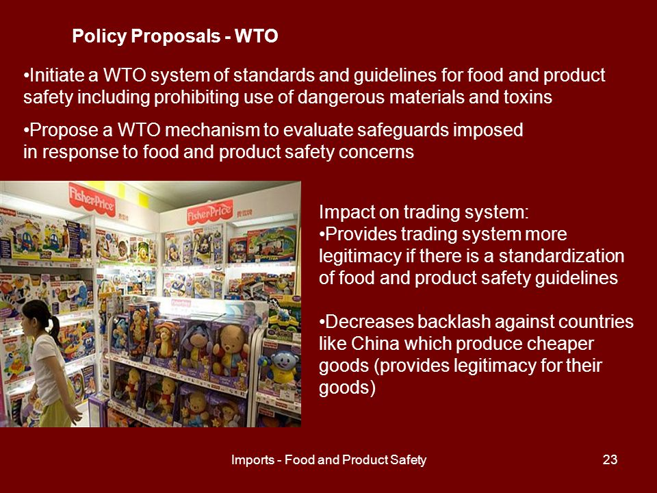 Imports - Food and Product Safety24 Works Cited THOMAS http://thomas.loc.govhttp://thomas.loc.gov U.S.