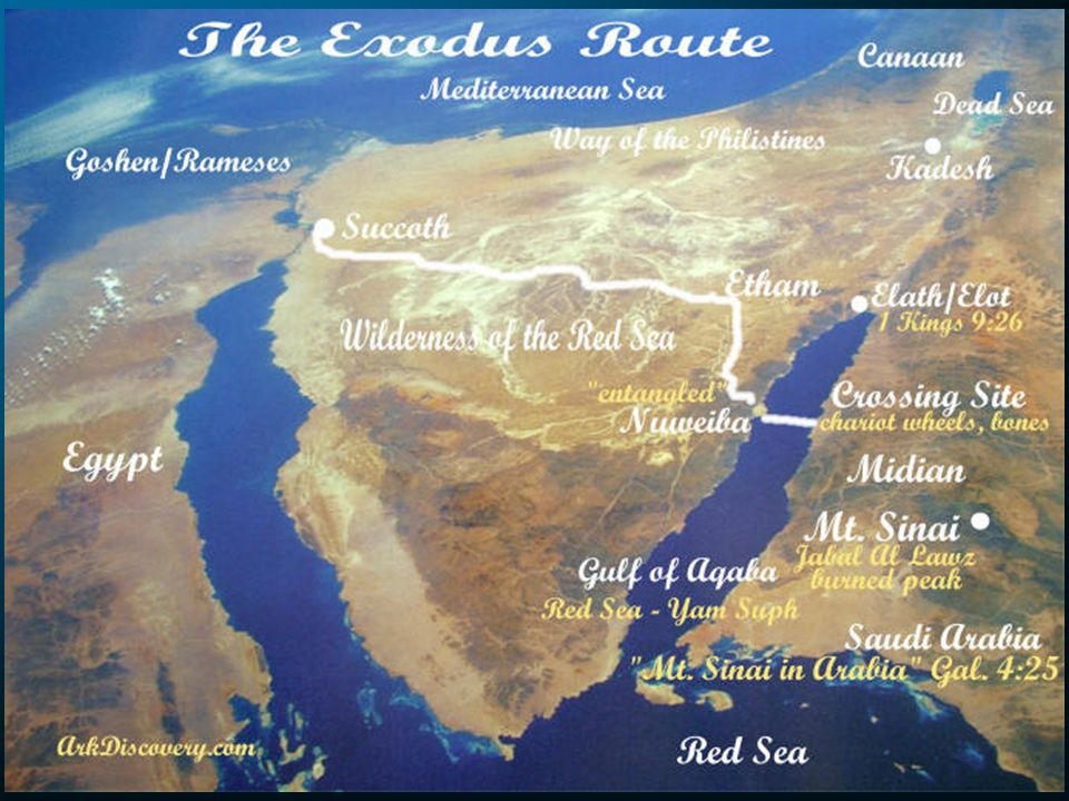 God Continues to Provide Then Moses led Israel from the Red Sea and they went into the Desert of Shur.