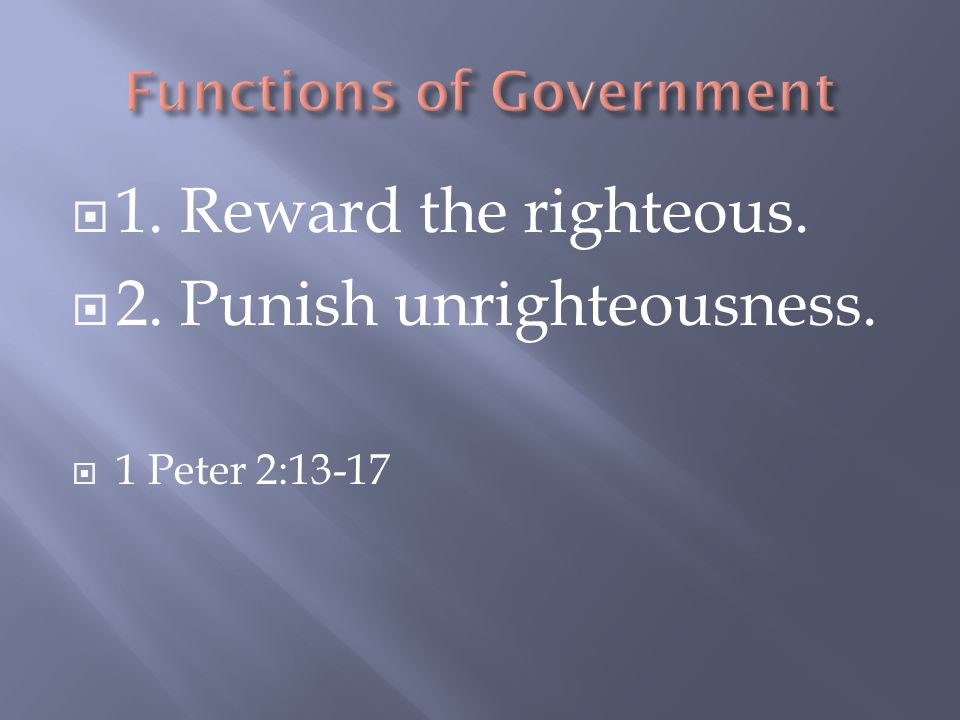  What is righteousness.
