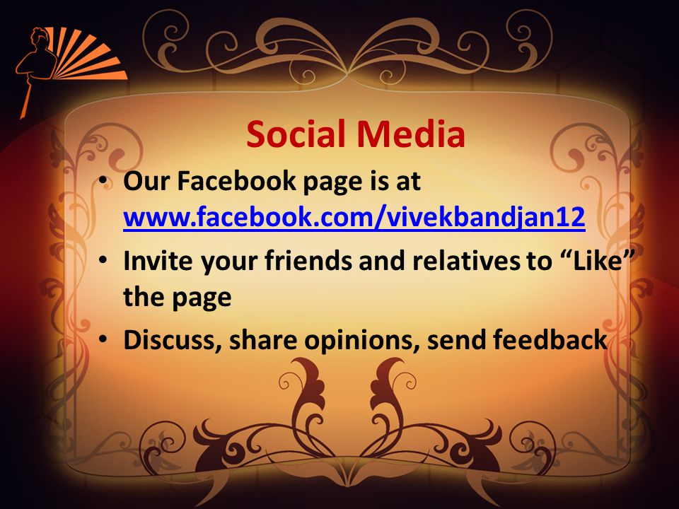 FEED BACK Sharing of Experience Expressing Opinions www.samarthabharata.org at