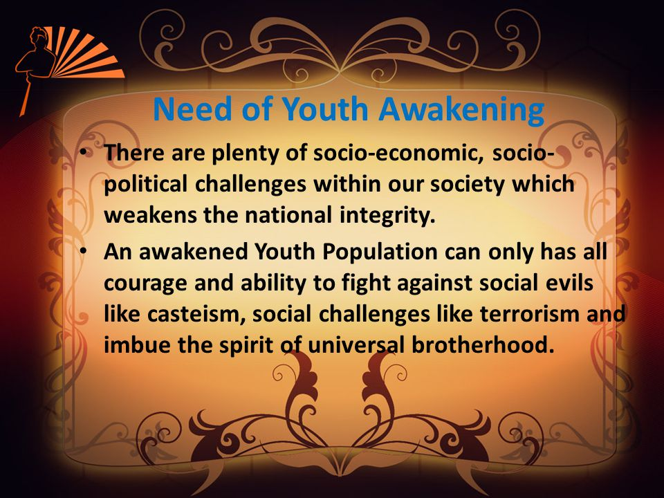 Importance of Social Initiatives Social initiatives are much needed and timely helpful to awaken the youth population of this nation.