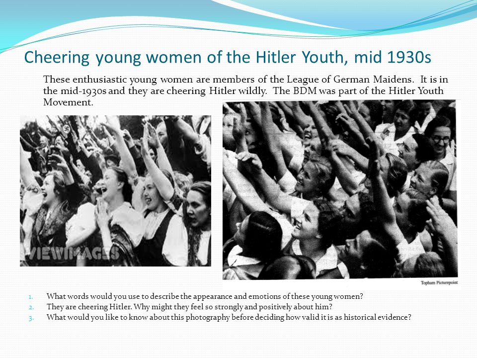 Inge Scholl remembers her days in the Hitler Youth 1.
