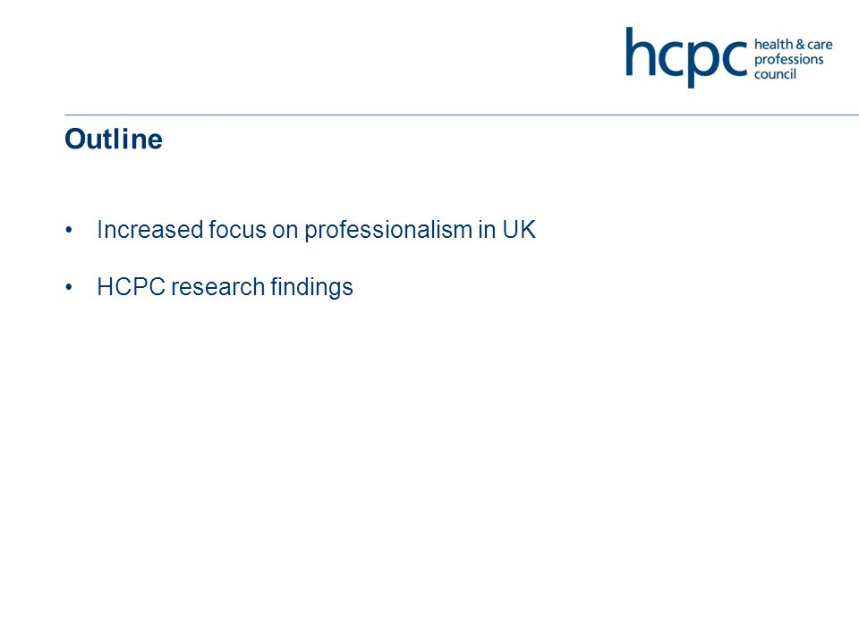 HCPC: who do we regulate? 308,000* registrants from 16 professions (*estimated)