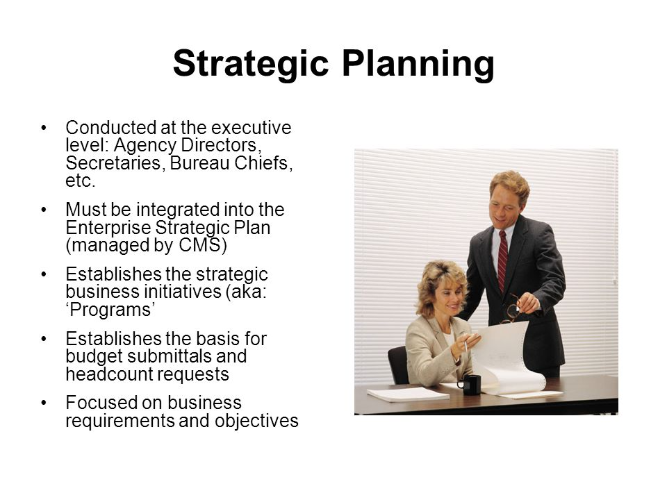 Budgetary Planning Process Prioritize and rank order projects: senior management must determine which business initiatives and projects are most important to the organization.