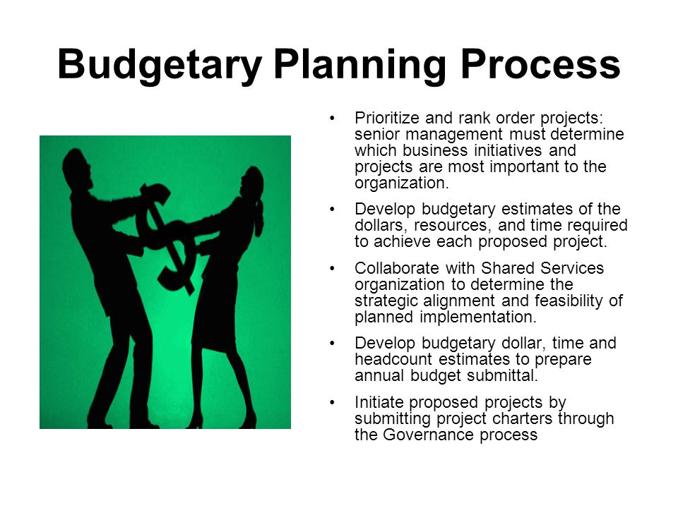 Project Portfolio Identify IT Programs & Projects (in advance) Business requirements drive ranking and prioritization Forecast funding and resource requirements Identify interdependencies and constraints Facilitate pre-planning for long lead-time items (e.g., Master Contracts) Facilitate Governance process (alignment and standardization) Supports Resource and funding allocation planning
