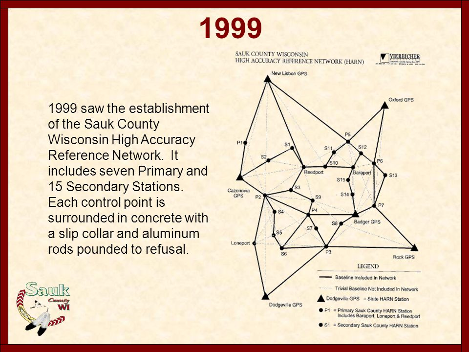 2000 - 2004 2000 The third Cartographic position was created and included with the the Mapping Department.