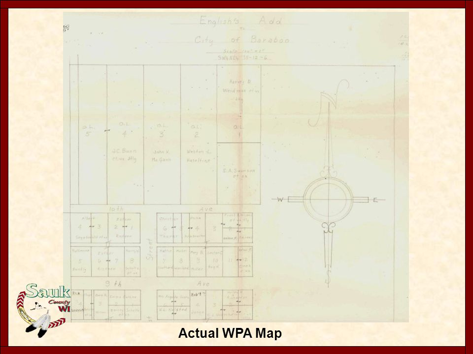 Notes from WPA records