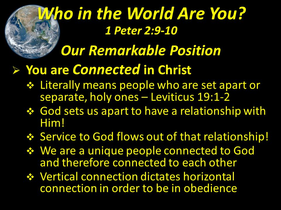 Our Remarkable Position  We are Coveted by God  Possession means to purchase or acquire for a price – 1 Peter 1:18-19; 1 Cor.