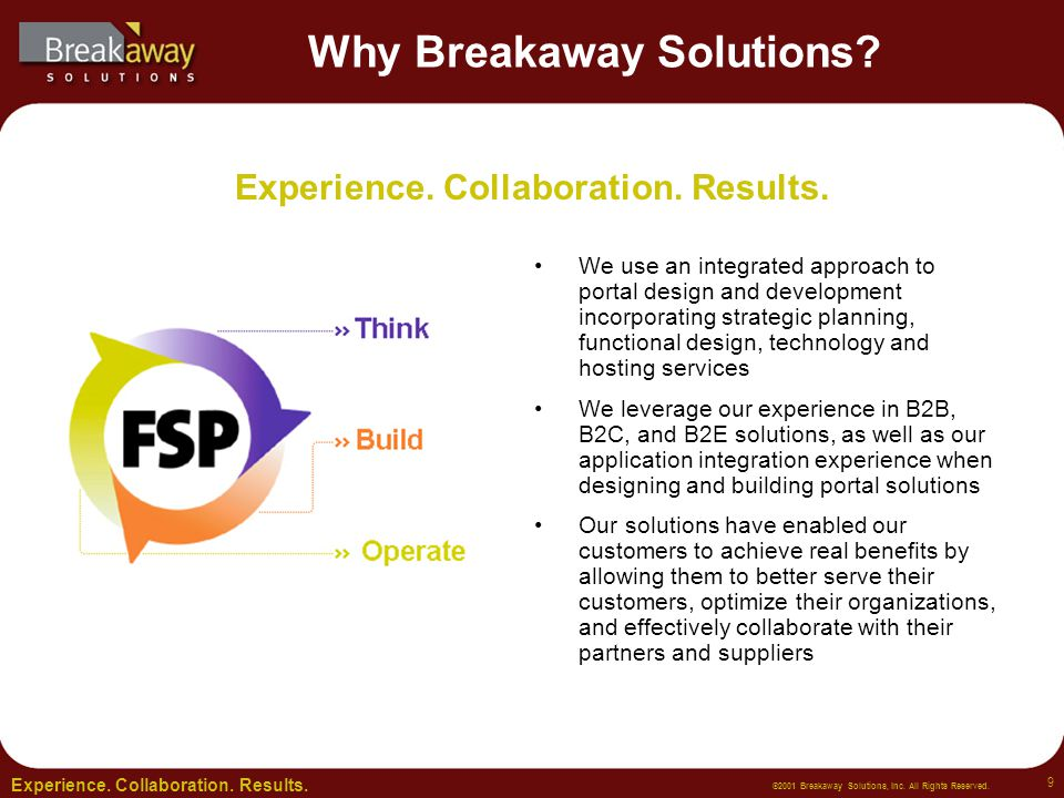 ©2001 Breakaway Solutions, Inc.All Rights Reserved.