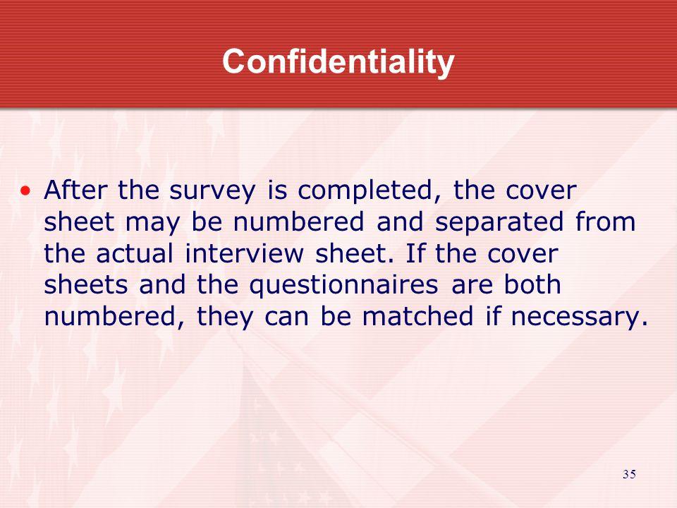 36 Step 4: Determining the Results For Sampling Surveys?.