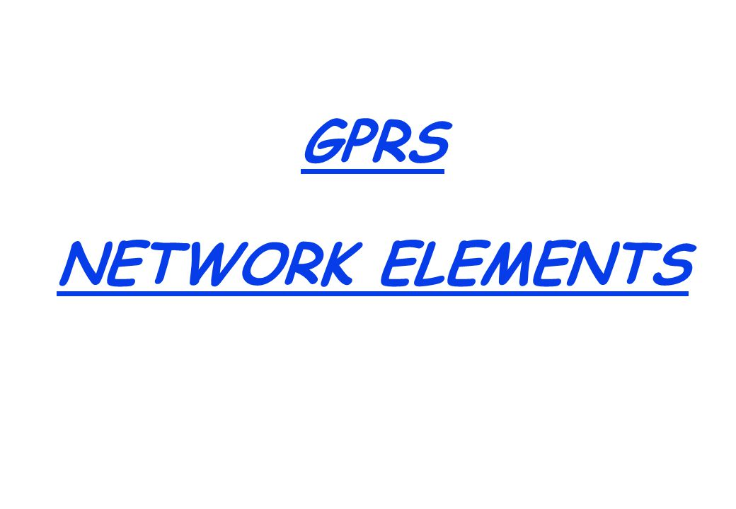 GSM NETWORK ELEMENTS The Main elements of GSM are: NSS : MSC VLR HLR (Includes Authentication Center and Equipment Identity Register) BSS : BSC BTS Transcoder NMS Fault Management Configuration Management Performance Management