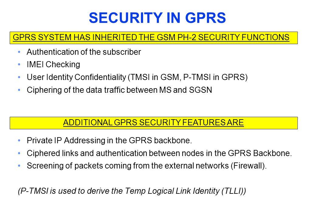 The Abbreviation GPRS = General Packet Radio System EGPRS = GPRS + EDGE modulation