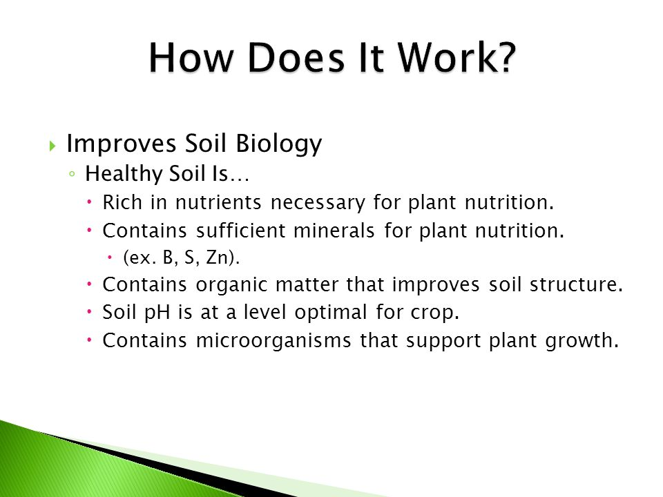  Most soil biologists say that Midwest soils contain less than 5% of the origin beneficial microbe populations.