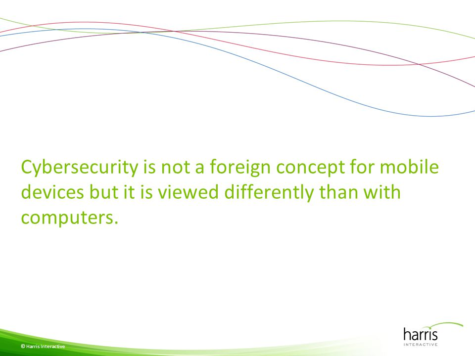 Nearly all see mobile devices as vulnerable.