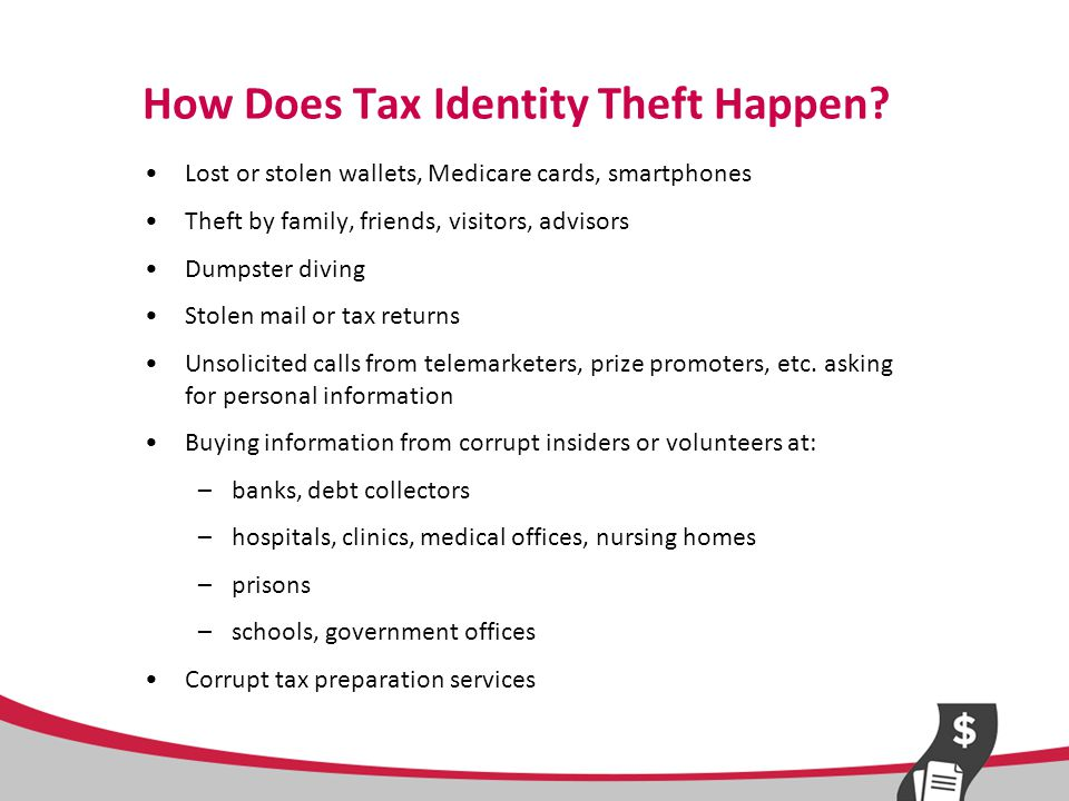 How Does Tax Identity Theft Happen Online.
