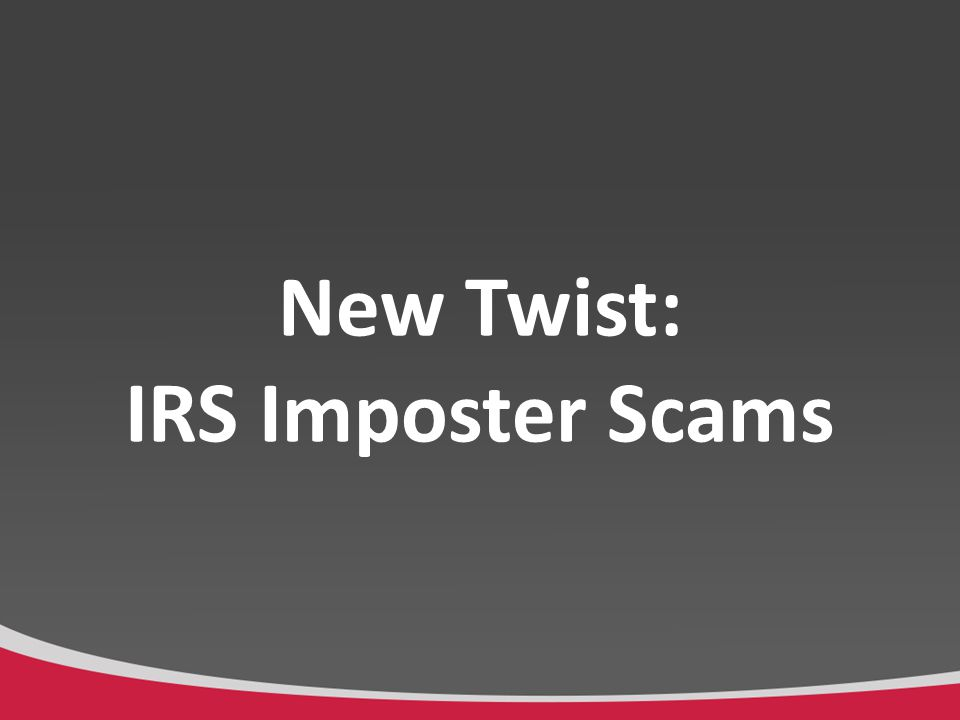 What are IRS Imposter Scams.