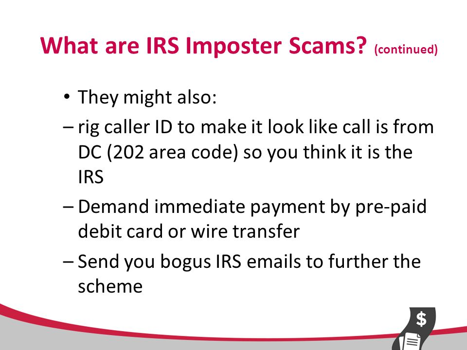 IRS Imposter Scams – Who is Affected.