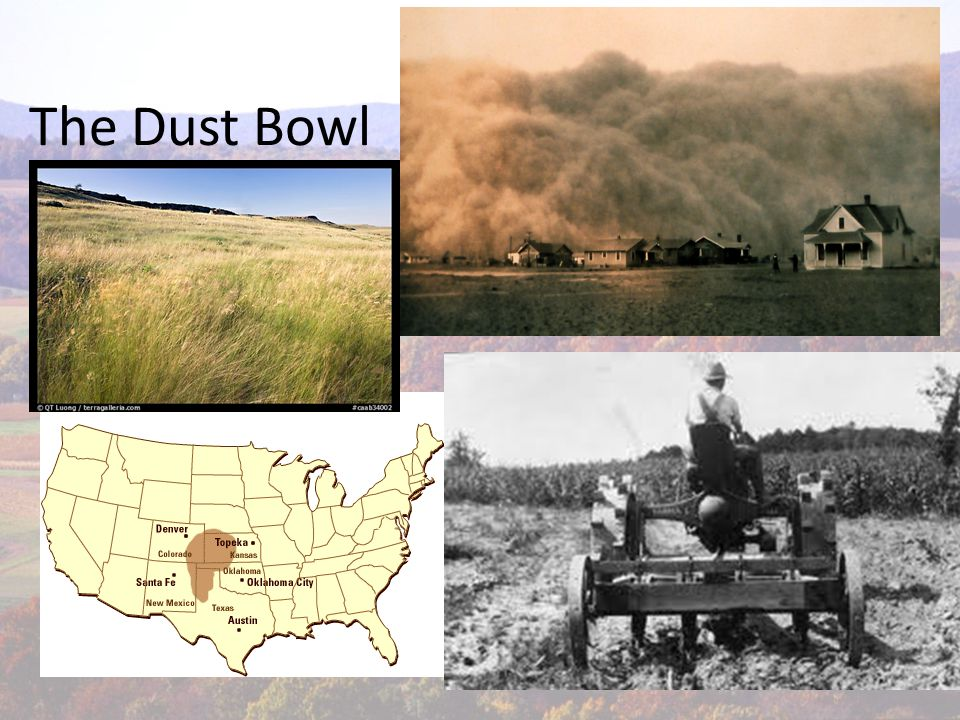 After the Dust Bowl Began age of modern farming Methods to prevent erosion and conserve soil 1.