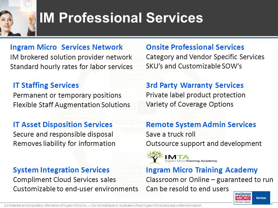 110801_25 Confidential and proprietary information of Ingram Micro Inc.