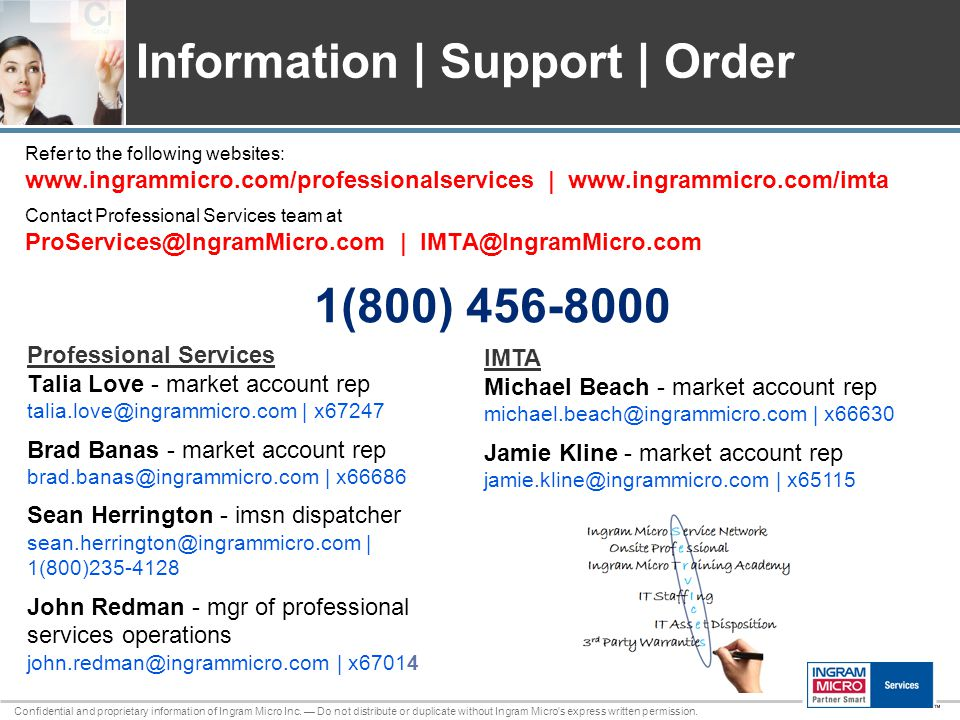 Confidential and proprietary information of Ingram Micro Inc.