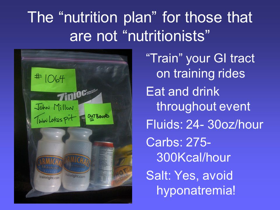 The salt plan Hottest ever Mt.Mitchell, 95+ degrees for 6 hrs – 2 bottles/hour!!.