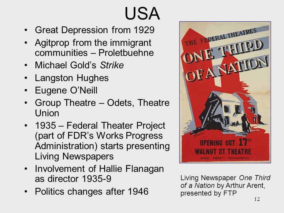 13 AgitProp characteristics 1: Politics is the purpose of theatre, not its subject.