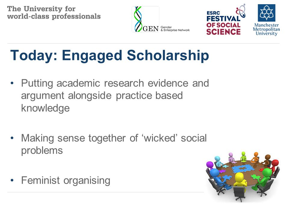The scholarship of engagement means connecting the rich resources of the university to our most pressing social, civic and ethical problems....