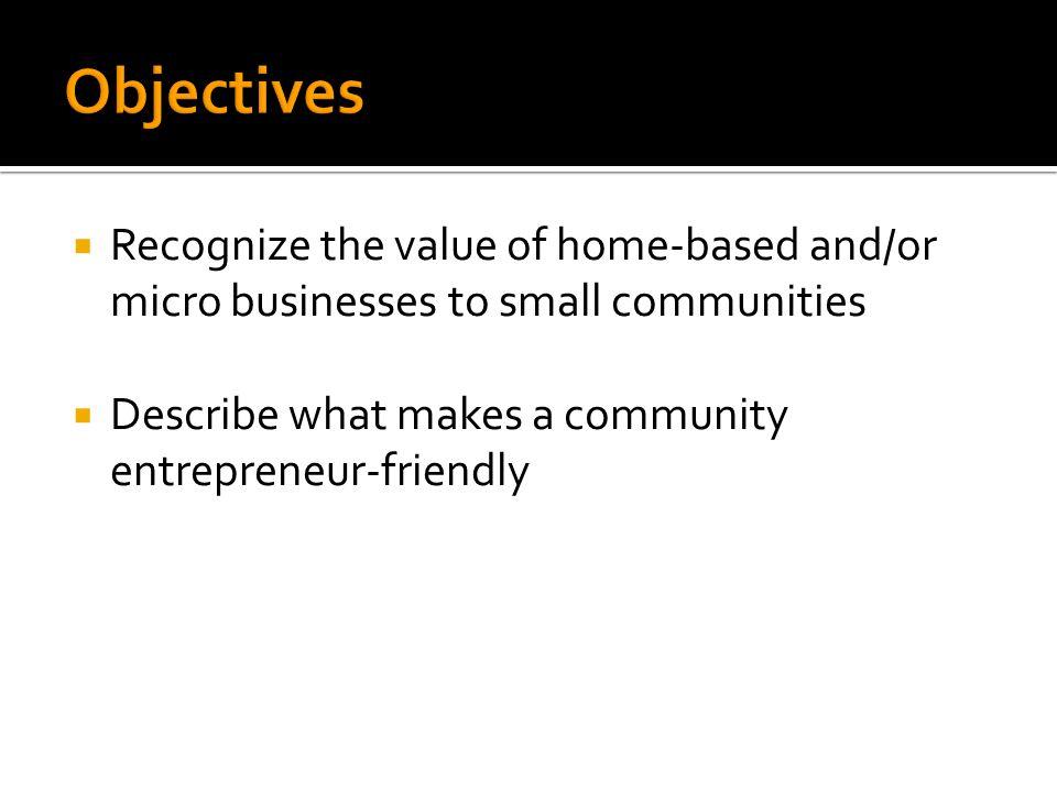  Describe a small business owner.  Describe an entrepreneur.