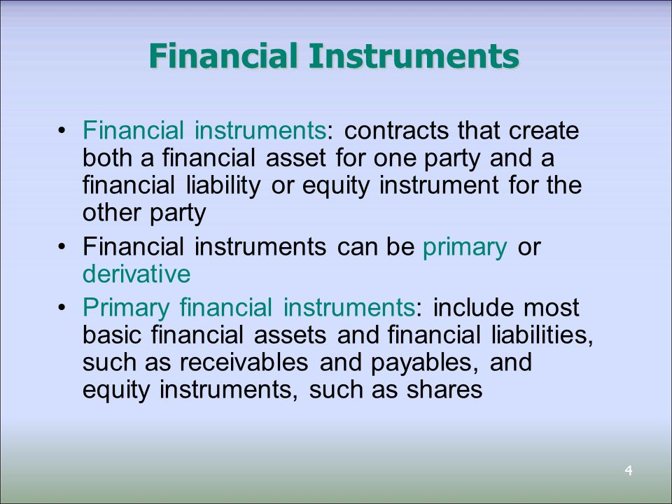 5 Derivative Instruments Derivatives are financial instruments that create rights and obligations, that transfer financial risk from one party to the another party Derivatives have the following characteristics: 1.Their value changes in response to the underlying instrument (the underlying ) 2.