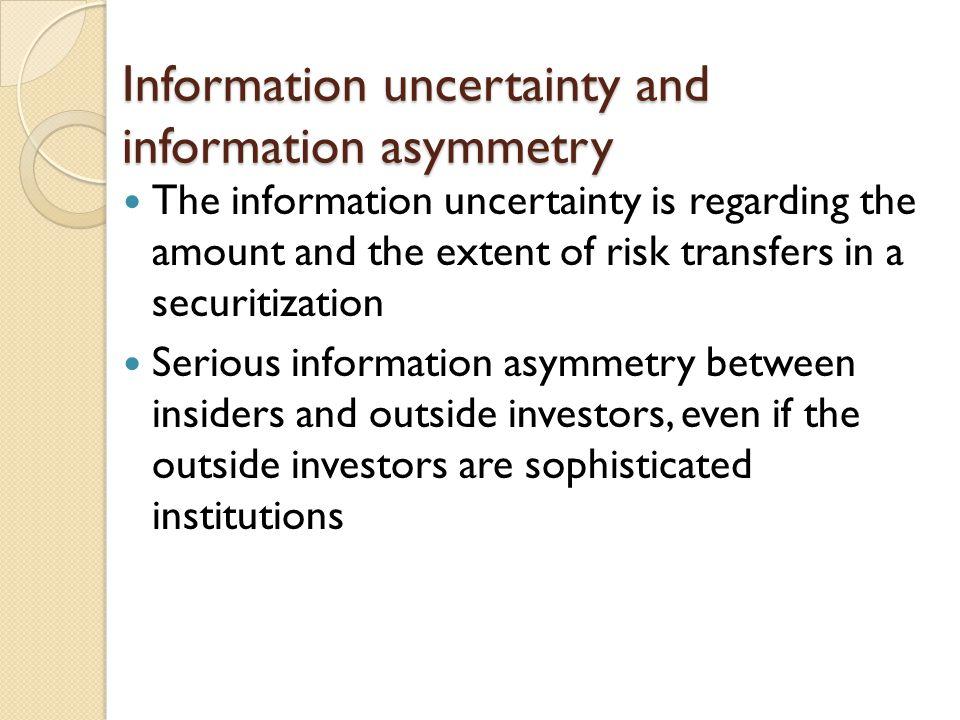 Opportunities for insider trading Cheng et al.