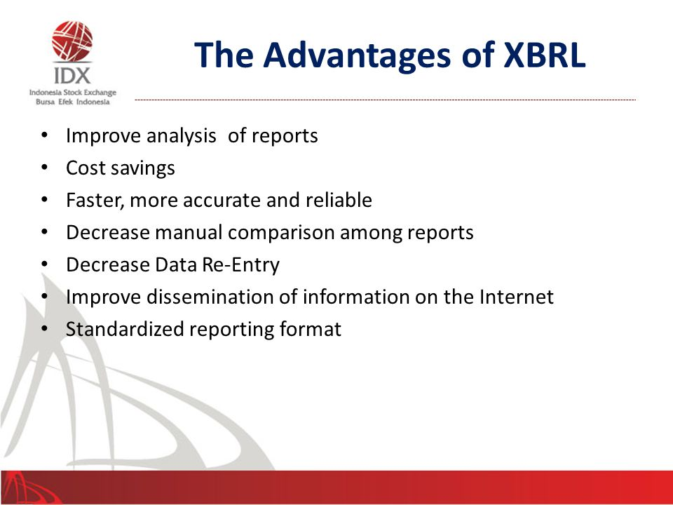 Who will benefit from using XBRL.