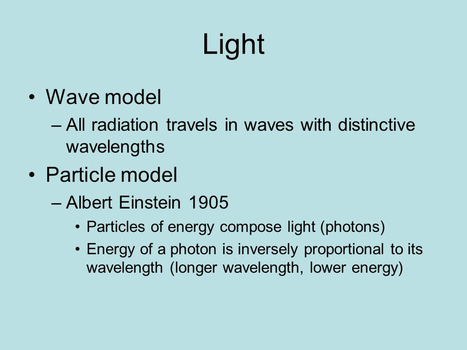 Pigments! -substances that absorb light -varying absorption spectrums