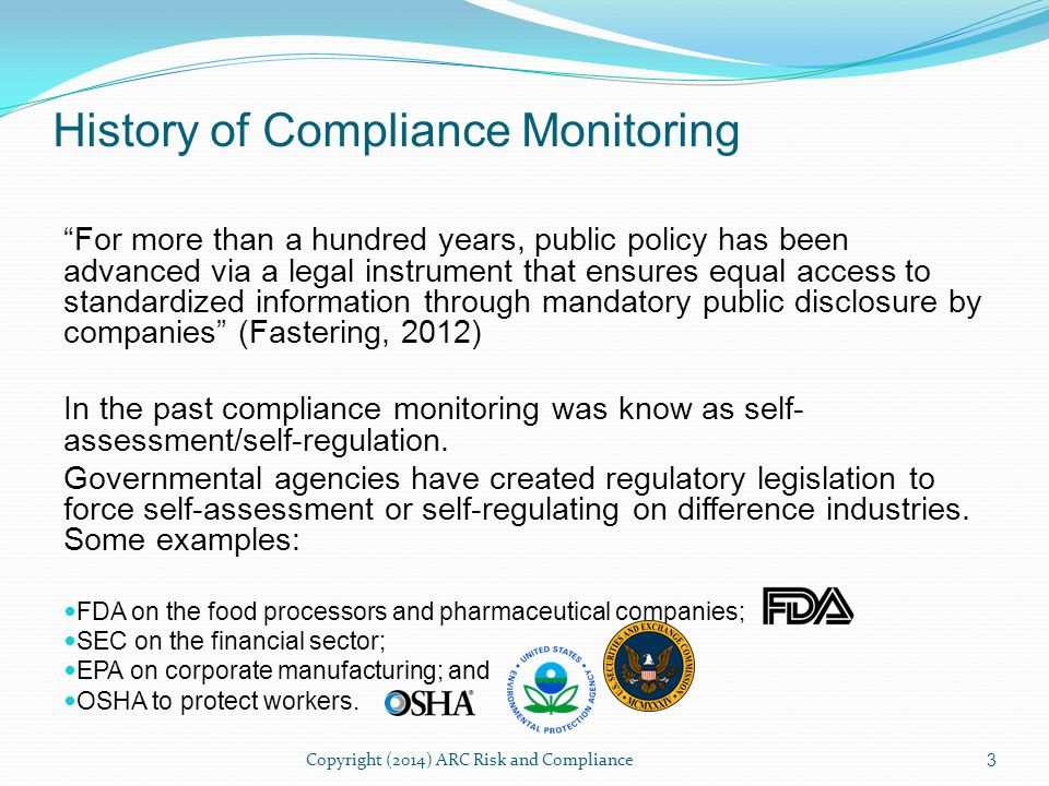 In the area of BSA/AML and OFAC there are considerable regulatory requirements.