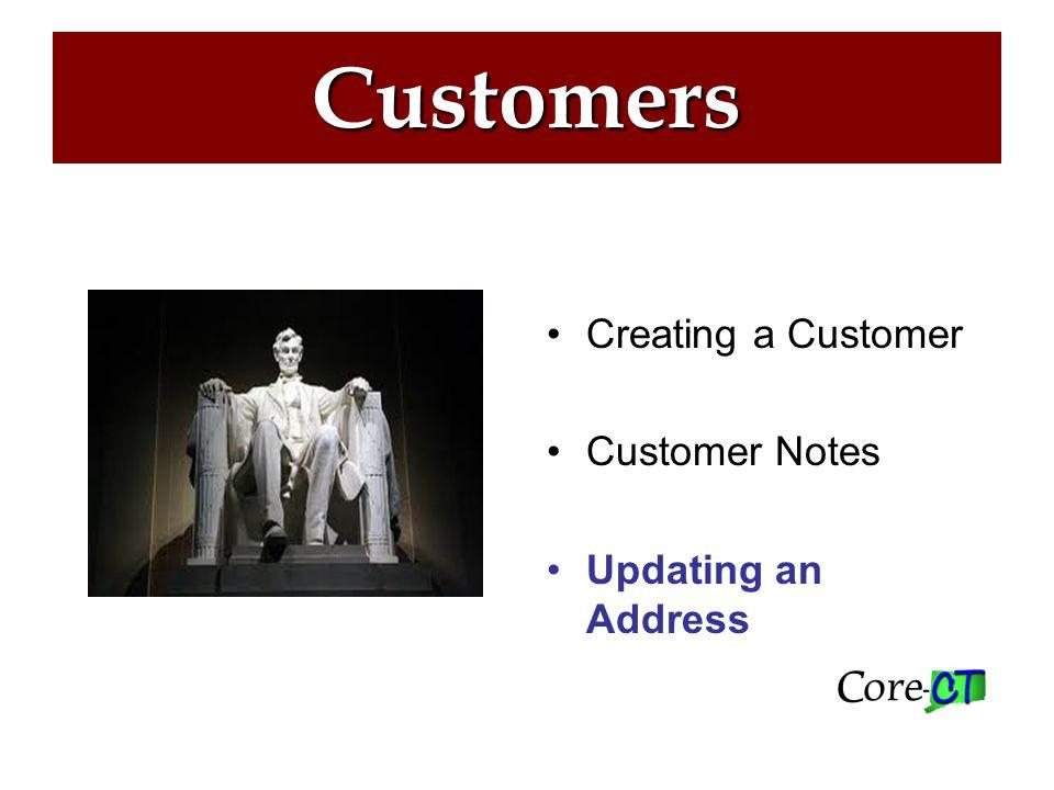 Customers Step 1