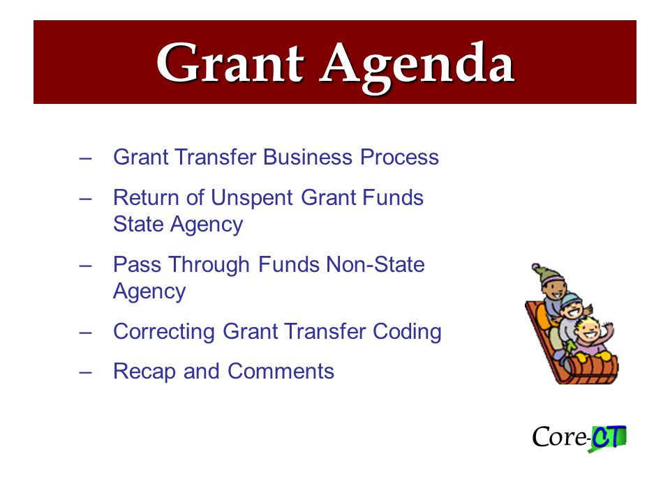 Grant Coding ─Grant Transfers ─Other Transfers ─Pass-Through Non-State, Non-Federal Agencies