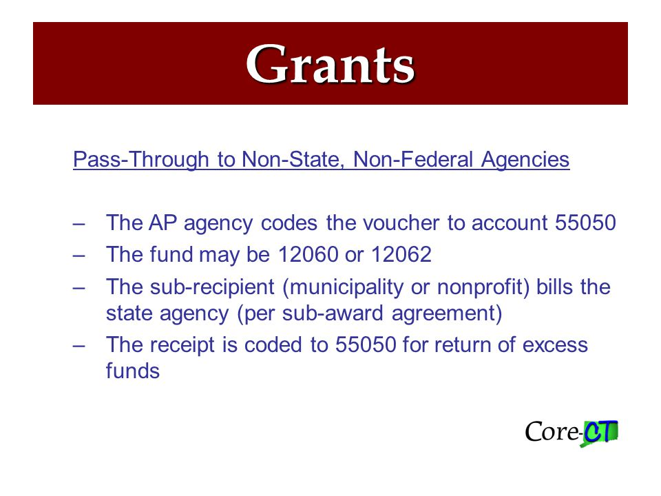 Grant Coding Corrections Correcting Grant Transfers Coding Errors –AR: Spreadsheet journal, use source DC deposit correction –AP: Use journal voucher process in the month of occurrence.