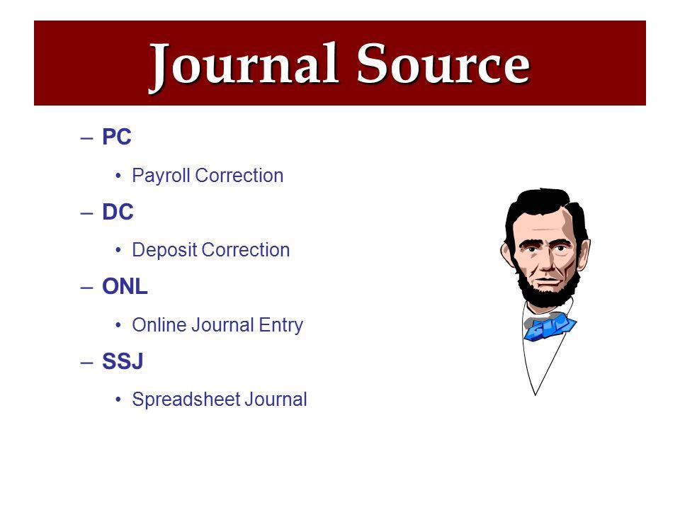 Journal Source