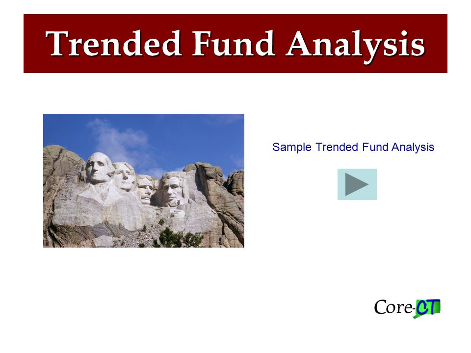Trended Fund Analysis