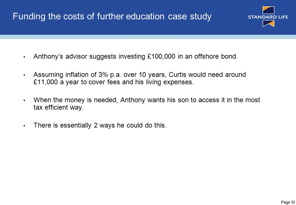 Page 13 Anthony could cash in £11,000 p.a.