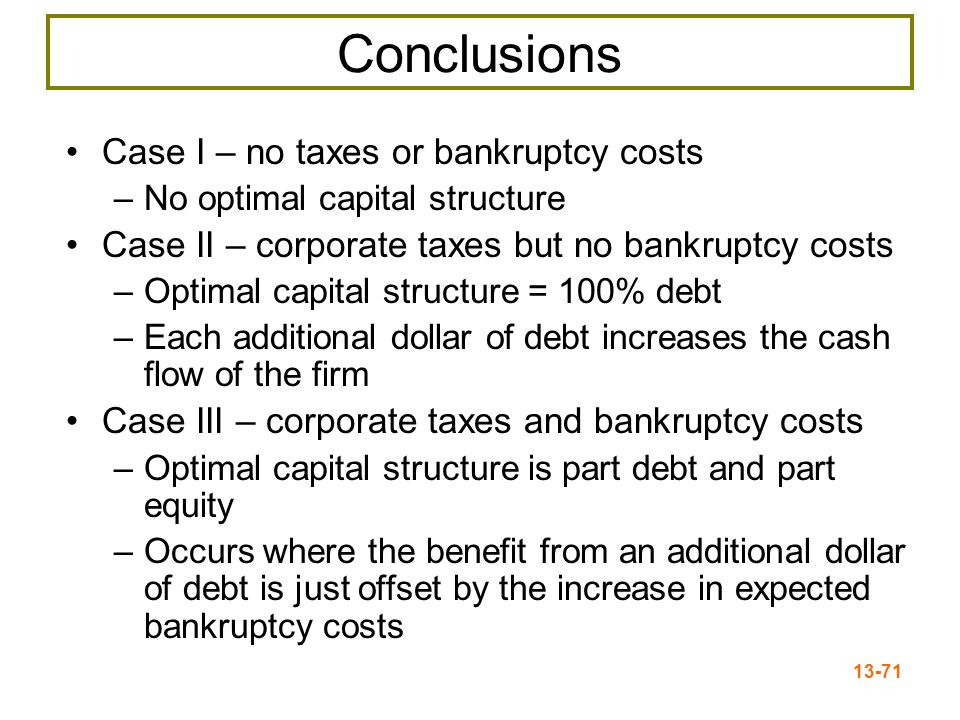 13-72 The Capital Structure Question Figure 13.6