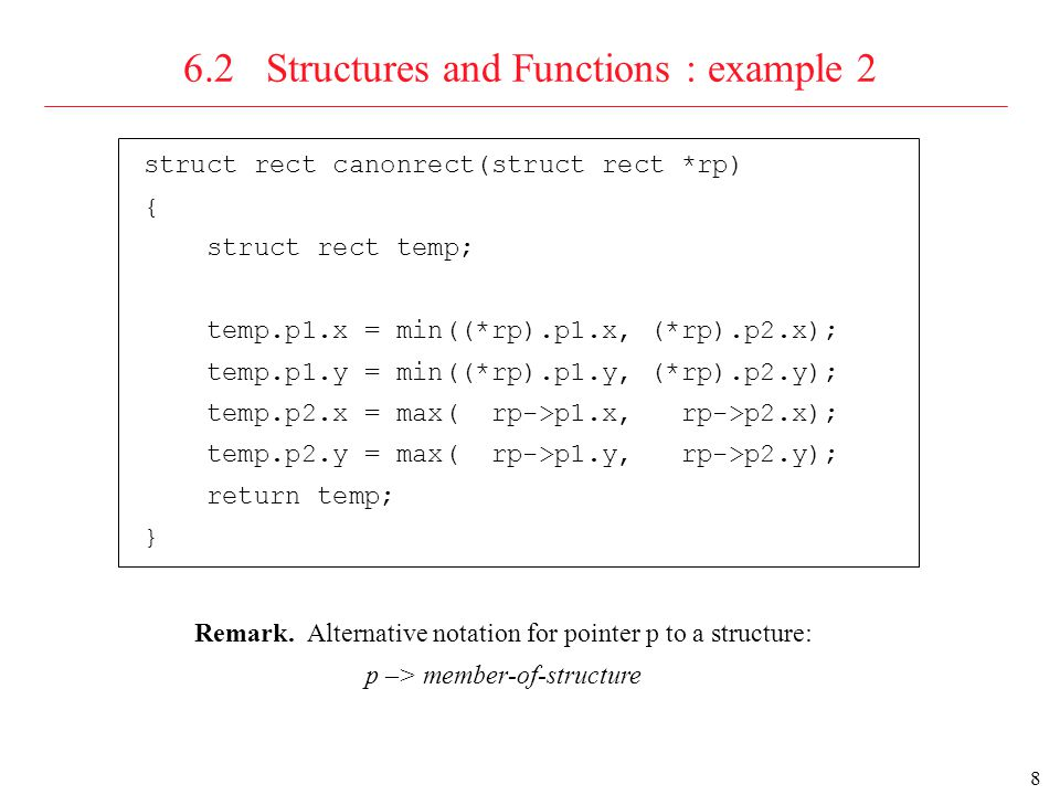 9 6.2 Structures and Functions :.and –> Both.