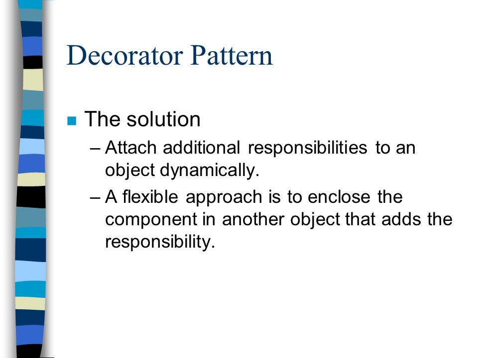 Decorator Pattern (structure)