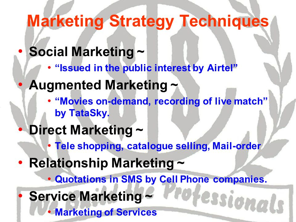Person Marketing ~ Political party.