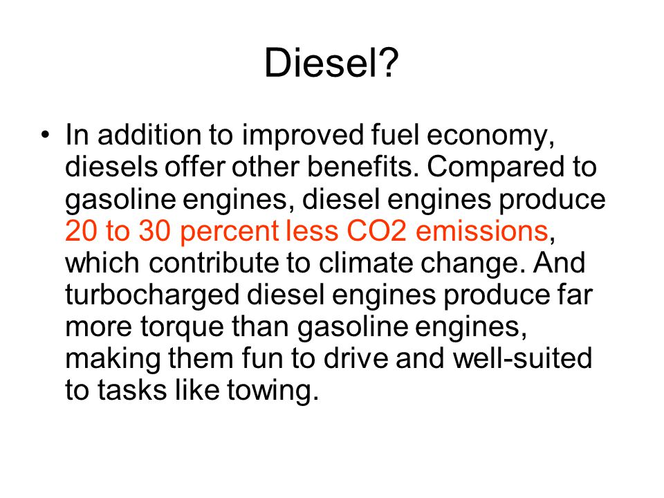 Why is Diesel so costly.