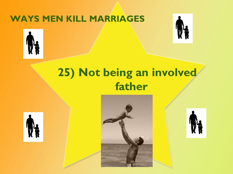 WAYS MEN KILL MARRIAGES 26) Not encouraging your wife to have female friends.
