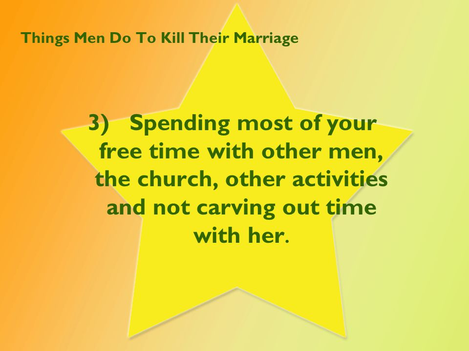 Things Men Do To Kill Their Marriage 4)Not calling when you are late.
