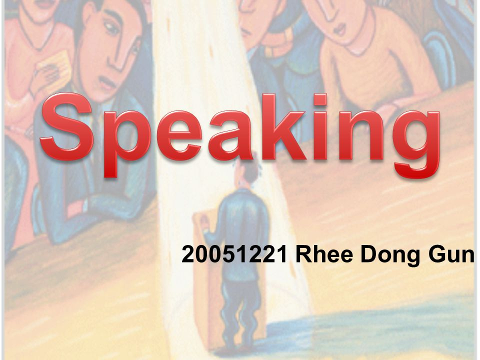 Chapter The speaking process The differences between spoken and written language Speaking skills Speaking in the classroom Feedback and correction Summary